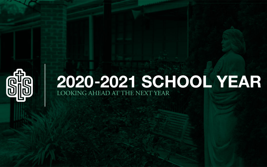 2020-2021: THE SCHOOL YEAR AHEAD